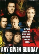 Any Given Sunday - DVD cover (xs thumbnail)