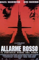 Crimson Tide - Italian Movie Poster (xs thumbnail)