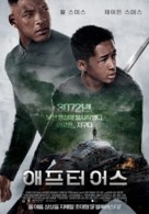 After Earth - South Korean Movie Poster (xs thumbnail)