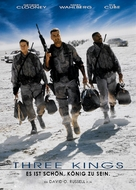 Three Kings - German Movie Cover (xs thumbnail)