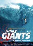 Riding Giants - German Movie Poster (xs thumbnail)