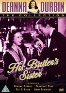 His Butler's Sister - British DVD cover (xs thumbnail)
