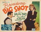 Broadway Big Shot - Movie Poster (xs thumbnail)