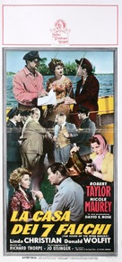 The House of the Seven Hawks - Italian Movie Poster (xs thumbnail)