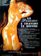 La donna nel mondo - French Movie Poster (xs thumbnail)