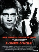 Lethal Weapon - French Movie Poster (xs thumbnail)