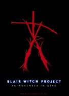 The Blair Witch Project - German Movie Poster (xs thumbnail)