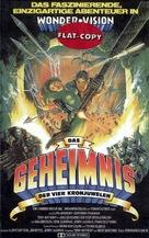 El tesoro de las cuatro coronas - German VHS cover (xs thumbnail)