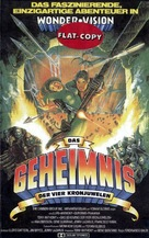 El tesoro de las cuatro coronas - German VHS movie cover (xs thumbnail)