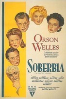 The Magnificent Ambersons - Argentinian Movie Poster (xs thumbnail)