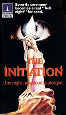 The Initiation - VHS cover (xs thumbnail)