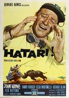 Hatari! - Italian Movie Poster (xs thumbnail)