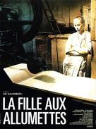 Tulitikkutehtaan tyttö - French Movie Poster (xs thumbnail)