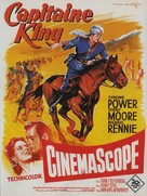 King of the Khyber Rifles - French Movie Poster (xs thumbnail)