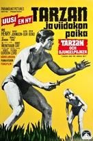 Tarzan and the Jungle Boy - Finnish Movie Poster (xs thumbnail)