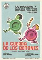 La guerre des boutons - Spanish Movie Poster (xs thumbnail)