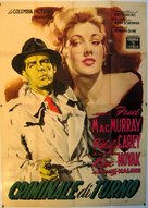 Pushover - Italian Movie Poster (xs thumbnail)