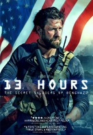 13 Hours: The Secret Soldiers of Benghazi - Movie Cover (xs thumbnail)