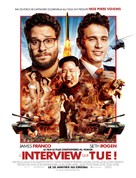 The Interview - French Movie Poster (xs thumbnail)