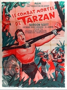 Tarzan's Fight for Life - French Movie Poster (xs thumbnail)
