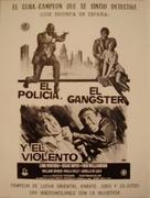 Tough Guys - Spanish Movie Poster (xs thumbnail)