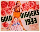 Gold Diggers of 1933 - Movie Poster (xs thumbnail)
