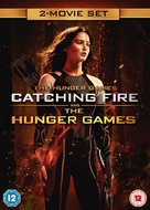 The Hunger Games: Catching Fire - British DVD movie cover (xs thumbnail)