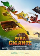 The Incredible Story of the Giant Pear - Spanish Movie Poster (xs thumbnail)