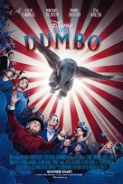 Dumbo - Danish Movie Poster (xs thumbnail)