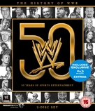 WWE: History of the WWE - British Blu-Ray movie cover (xs thumbnail)