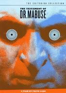 Das Testament des Dr. Mabuse - DVD cover (xs thumbnail)