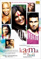 Karma, Confessions and Holi - Indian Movie Poster (xs thumbnail)