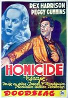 Escape - Belgian Movie Poster (xs thumbnail)