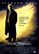 Primal Fear - French Movie Poster (xs thumbnail)