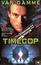 Timecop - Finnish VHS movie cover (xs thumbnail)