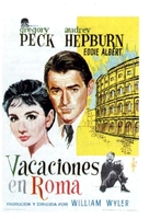 Roman Holiday - Spanish Movie Poster (xs thumbnail)