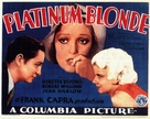 Platinum Blonde - Movie Poster (xs thumbnail)