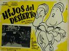 Sons of the Desert - Mexican poster (xs thumbnail)