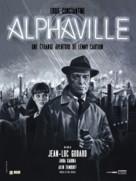 Alphaville, une étrange aventure de Lemmy Caution - French Movie Poster (xs thumbnail)