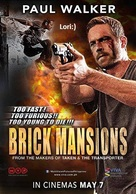 Brick Mansions - Philippine Movie Poster (xs thumbnail)