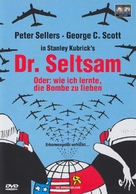 Dr. Strangelove - German DVD cover (xs thumbnail)