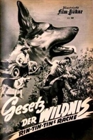 Law of the Wild - German poster (xs thumbnail)