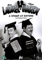 A Chump at Oxford - British DVD cover (xs thumbnail)