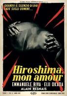 Hiroshima mon amour - Italian Movie Poster (xs thumbnail)