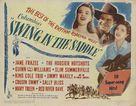 Swing in the Saddle - Movie Poster (xs thumbnail)