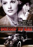 Dressed to Kill - Movie Cover (xs thumbnail)