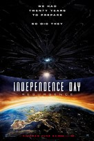 Independence Day Resurgence - British Movie Poster (xs thumbnail)