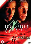 The X Files - British DVD movie cover (xs thumbnail)