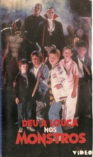 The Monster Squad - Brazilian Movie Cover (xs thumbnail)