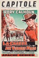 Apache Territory - Belgian Movie Poster (xs thumbnail)
